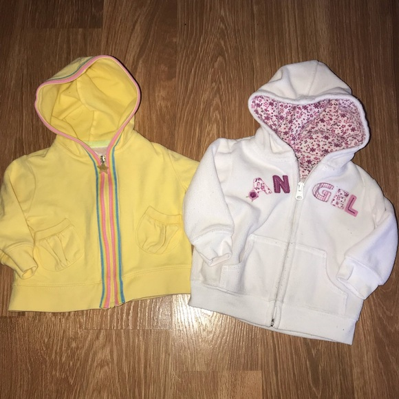 Next Baby Girls Hoodie 6-9 Months Clothes, Shoes & Accessories